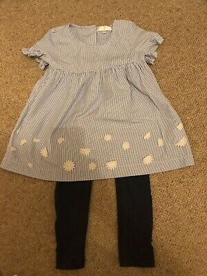 Girls Daisy Top And Leggings Set Age 4-5 Years
