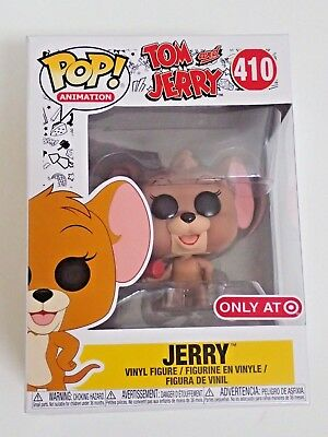 Funko POP! Animation Tom and Jerry 410 Jerry Target Exclusive *NEW*