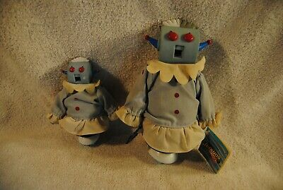 2 Vintage The Jetsons Rosie The Robot 1990 Vinyl Figures Applause
