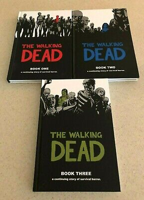 Set of THE WALKING DEAD  A Continuing Story of Survival Horror Book Series 1 2 3