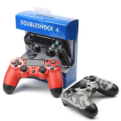Wireless Bluetooth or USB wired Controller Gamepad Joystick For PS4 PlayStation