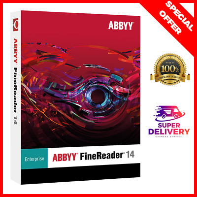 ABBYY FineReader Enterprise 14 ✓ Lifetime 🔥 Instant Delivery  ⭐