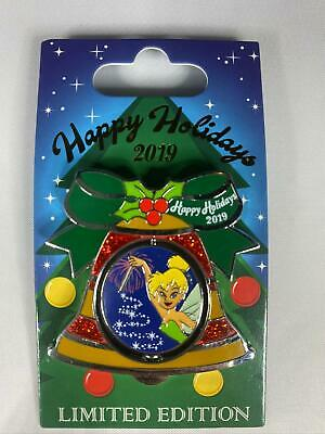 2019 Disney Contemporary Resort Holiday Bell Collection Pin- Tinker Bell LE 2000