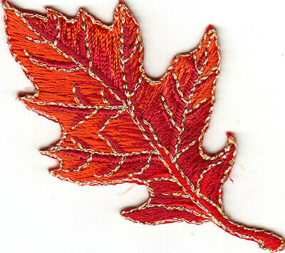 #4499 Autumn//Fall Barn w//Autumn Gold Word Embroidery Iron On Applique Patch
