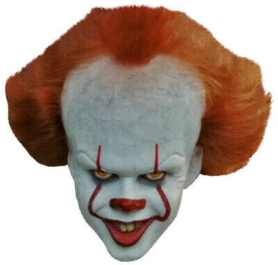 PENNYWISE Scary CLOWN Face Promo Shot from IT Movie - Window Cling Decal Sticker