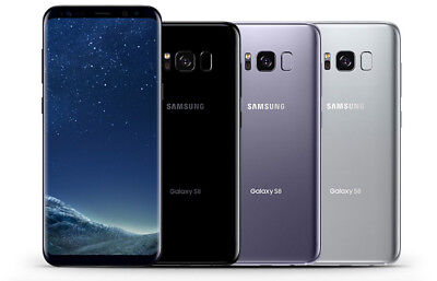 Samsung Galaxy S8 SM-G950U1 64GB T-mobile Verizon AT&T Unlocked B Heavy Shadow
