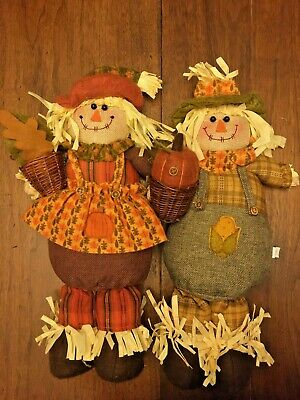 Hobby Lobby Scarecrow And Crow Thanksgiving Halloween Fall