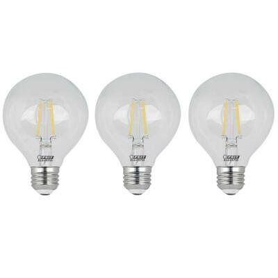 FEIT ELECTRIC 2 Count 40 Watts 120 V 2700 K Frosted Straight Tip Chandelier Light Bulbs