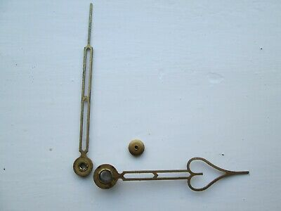 A Pair Of Original  Smiths /Enfield Striking Mantel Clock Hands With Hand Hut