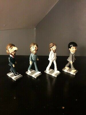 The Beatles Abbey Road band rare figures ornaments statues