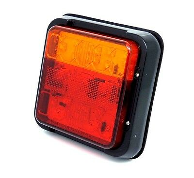 Rear Led Combination Light Fits Ifor Williams Trailer Bale Trailer Spreader.