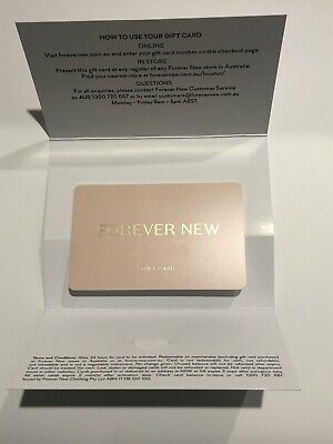 Forever New Gift Card - Value $640 expiry 3 Years - 11/2022)