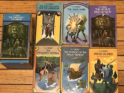 THE CHRONICLES OF NARNIA SET PAPERBACK #1-6 C.S. LEWIS Same Day Shipping!!
