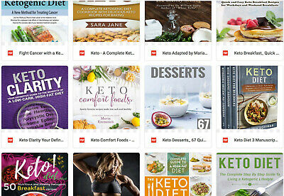 (PDF Version) Bumper 50 Keto Book Pack     weight loss recipes diet
