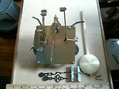 Hermle Black Forest Clock Movement brass vintage old cuckoo Viking