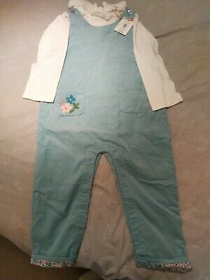 John Lewis Girls Traditional Style Dungarees - 2-3 Years - BNWT