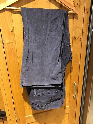 Boden Jeans Bootleg Trousers Cords Corduroy 20 L Long 20L Pewter Gray