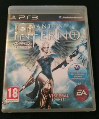 PS3 RARO DANTE'S INFERNO St. Lucia Edition PlayStation 3 giochi PAL ITA🇮🇹