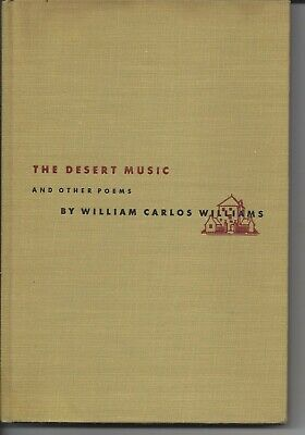 Collected poems 1st ed.in dj Desert Music & Other Poems William Carlos Williams