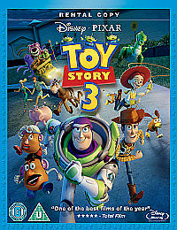 Toy Story 3 (Blu-ray, 2010) does not include DVD