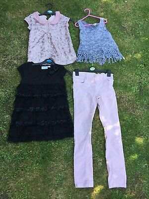 Girls Next Bundle tops Trousers 7 8 9 Years X4 Items Signature