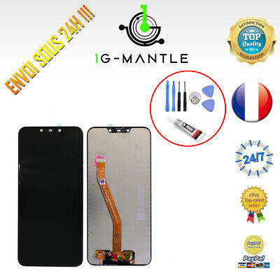 Ecran Lcd + Vitre Tactile Huawei Mate 20 Lite + Colle B-7000 + Outils