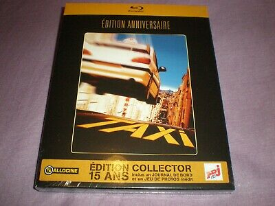 taxi édition anniversaire édition collector blu ray neuf sous blister