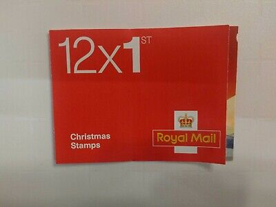 12 x 1st Class XMAS Red Stamps Royal Mail- Brand New - Free 'n Fast Dispatch