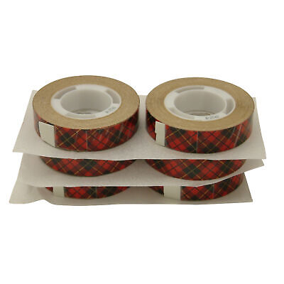 3M Scotch 924 ATG Tape: 1/2 in. x 33 ft. (Clear Adhesive on Tan Liner) [6 pack]
