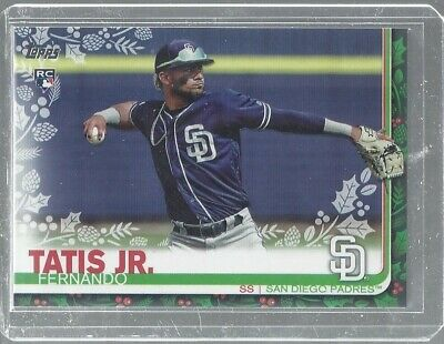 Fernando Tatis Jr 2019 Topps Holiday ROokie Card Padres MLB!!