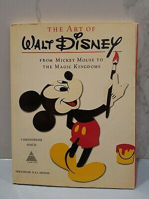 "The Art of Walt Disney ""From Mickey Mouse to The Magic Kingdoms"" NM New Concise"