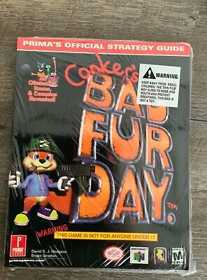Nintendo Conkers Bad Fur Day Prima's Strategy Guide