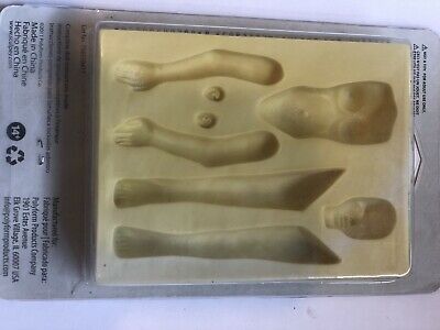 Sculpey Flexible Push Woman Mould/mold