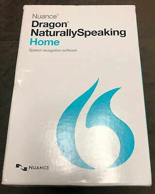Nuance Dragon Naturally Speaking Home 13 Version 13.0 w/ Headset Pre-Owned
