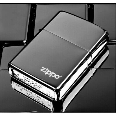 Black Ice With Logo 150ZL Zippo Lighter - AU Shipping