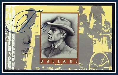 1993 First And Last Prefix folder $10 Fraser/Cole Banknotes  AA 93 + MMR(no pil)