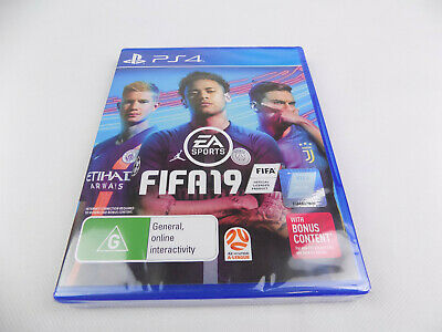 Brand New & Sealed Playstation 4 Ps4 Fifa 2019 19 2k19 Free Postage