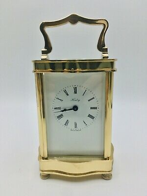 Henley Carriage clock Brass