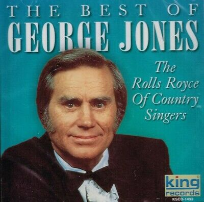"""THE BEST OF GEORGE JONES"" - Brand New CD - 9 Tracks - COUNTRY MUSIC"