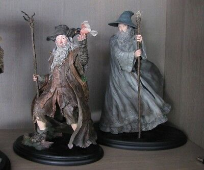 """Weta collectibles The Hobbit """"RADAGAST THE BROWN"""" in perfect condition"""