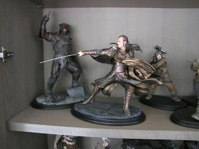 Weta The Hobbit collectibles ELROND in perfect condition