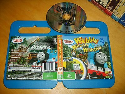 THOMAS AND FRIENDS: WOBBLY WHEELS & WHISTLES - 2012 ABC Oz for Kids Issue DVD R4