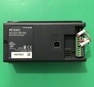 1PC Used for Keyence touch screen VT3-W4M tested free shipping #YP1