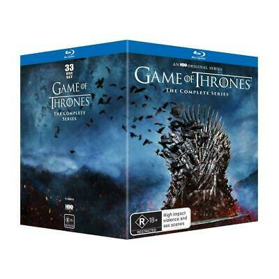 GAME OF THRONES The Complete Series : Season 1-8 : NEW Blu-Ray