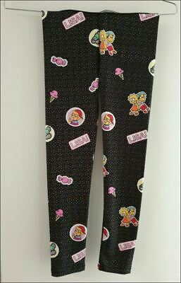 Girls new gorgeous black THE SIMPSONS leggings size 8