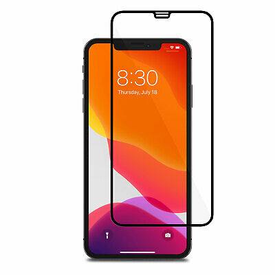 Screen Protector for iPhone 11, PRO MAX 9H 5D Curved Full Cover Tempered Glass