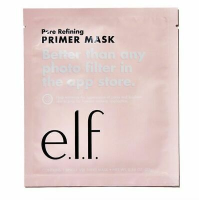 Elf Pore Refining Primer Sheet Priming Face Mask Vegan New Sealed