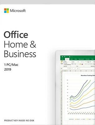 *Genuine* Microsoft Office Home and Business 2019 1 PC/MAC SKU T5D-03190