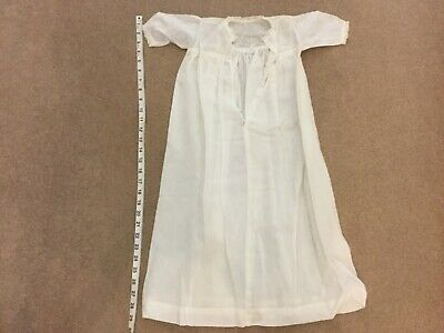 Antique Embroidered Christening Dress