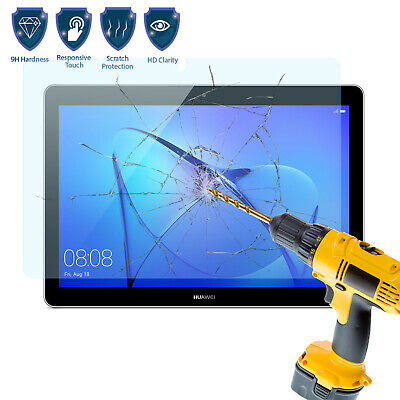 Tempered Glass Screen Protector Cover For Huawei Mediapad T5 10 Inch 16GB Tablet